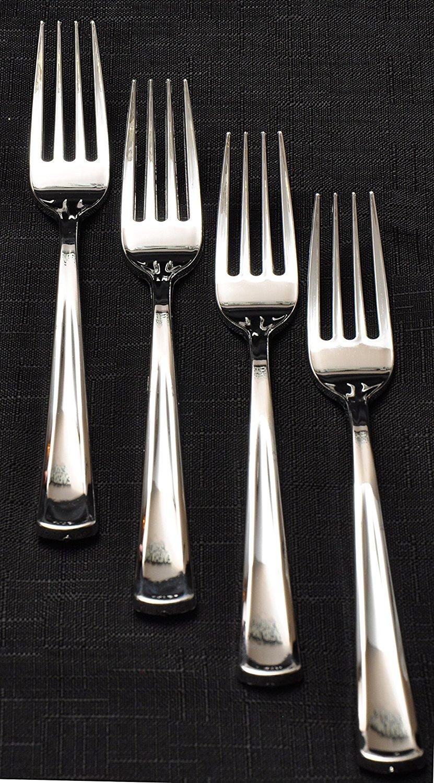 100 Silver Plastic Forks Premium Quality Disposable